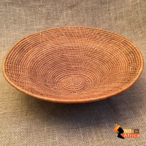 Botswana basket: Cognac colour (B 194)