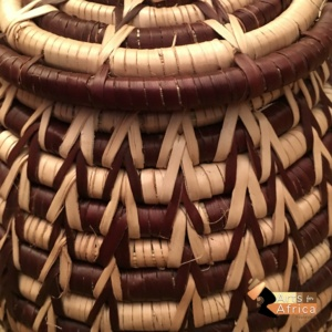 Botswana basket: Palm leaf (B 397)
